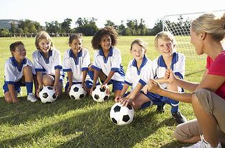Childrens Soccer Huddle | Georgia Center For Autism And Developmental Pediatrics