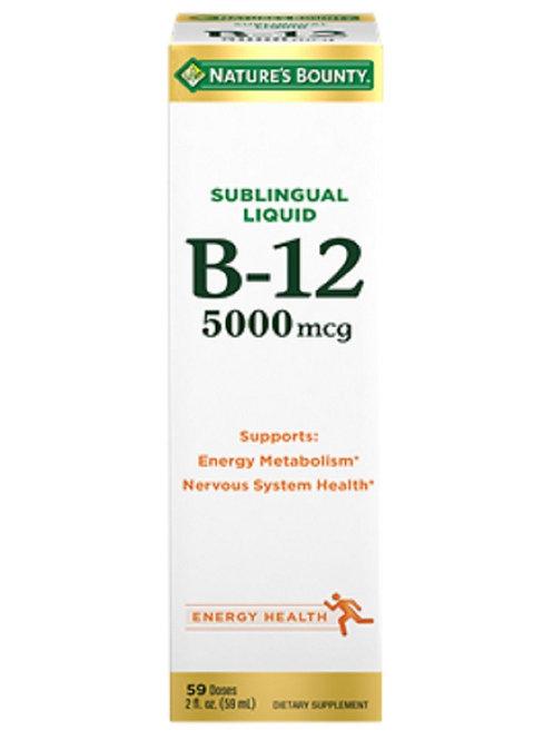 Nature's Bounty Sublingual Liquid 59 ML