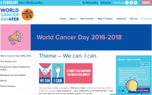 Image of World Cancer Day 2017