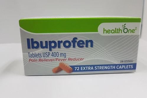 H One Ibuprofen Extra Strength 400mg 72's