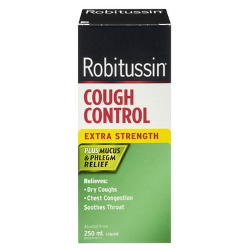 Robitussin DM Cough Control Extra Strength 250ml