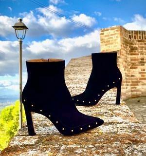 Jasmyn Black Designer Shoes For Women