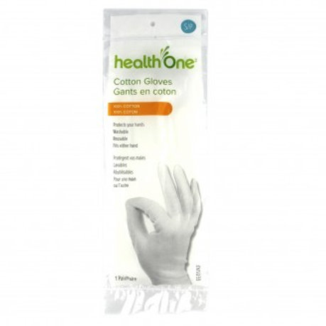 H One Gloves Cotton Small 1 Pair