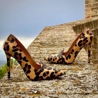 Amaya Leopard Designer Shoes For Women
