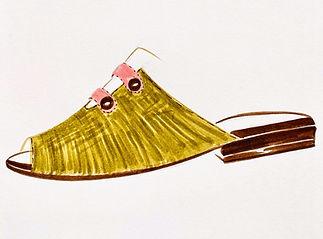 Ari Shoe Drawing