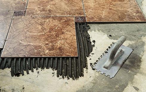 Ceramic Tiles & Adhesive