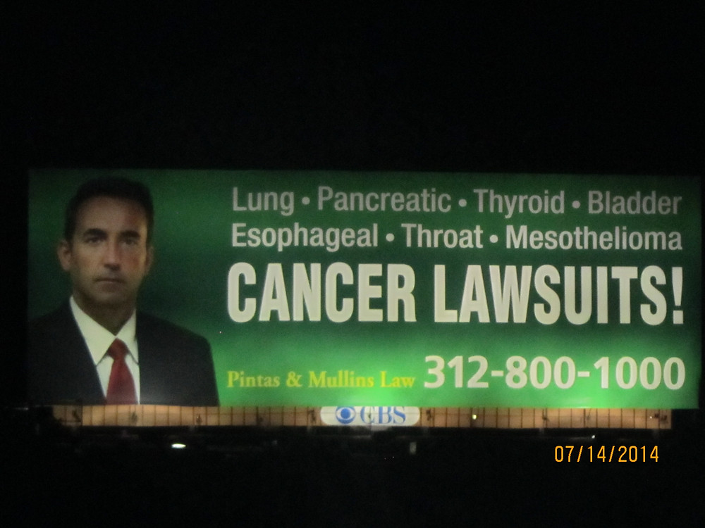 Chicago area billboard