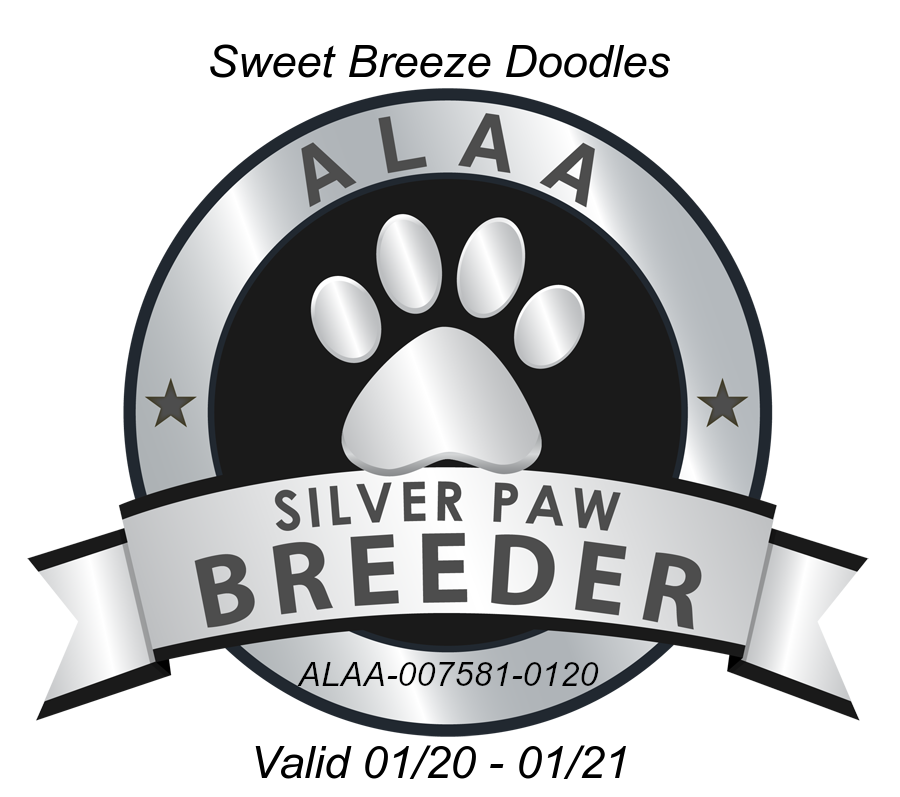 Sweet Breeze ALAA Silver Paw Logo 2020