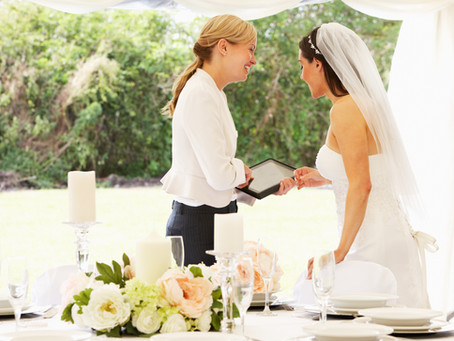Why to Hire a Wedding Planner