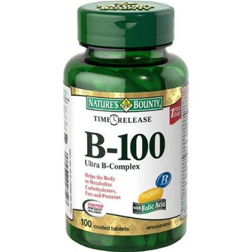 Nature's Bounty B100 Complex 180's