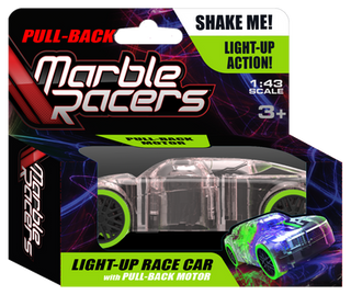 Pull-Back Marble Racer Green - SD Toyz