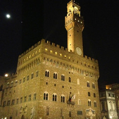 Palazzo Vecchio at Midnight
