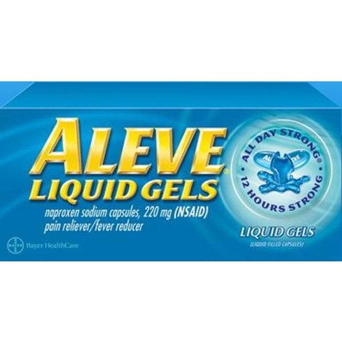 Aleve Liquid Gel 80's