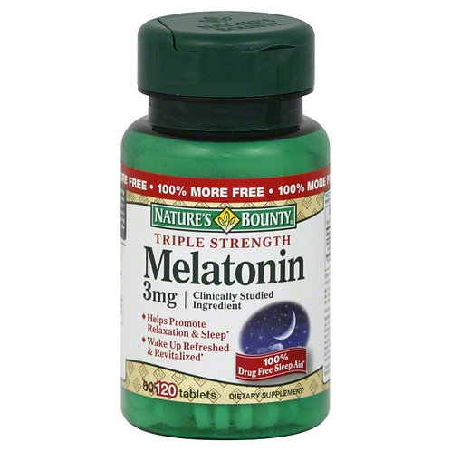 Nature's Bounty Melatonin 3mg 120's