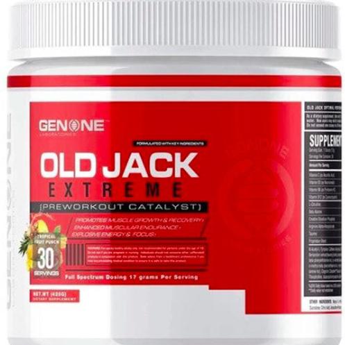 Old Jack Pre Workout | TNU FITNESS