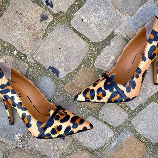 Amaya Leopard Womens Designer Shoes