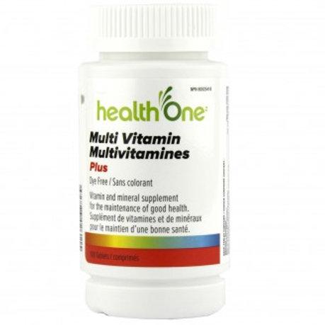 H One Multi Vitamin Plus Tab 100's