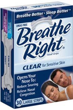Breathe Right Nasal Strip Clear