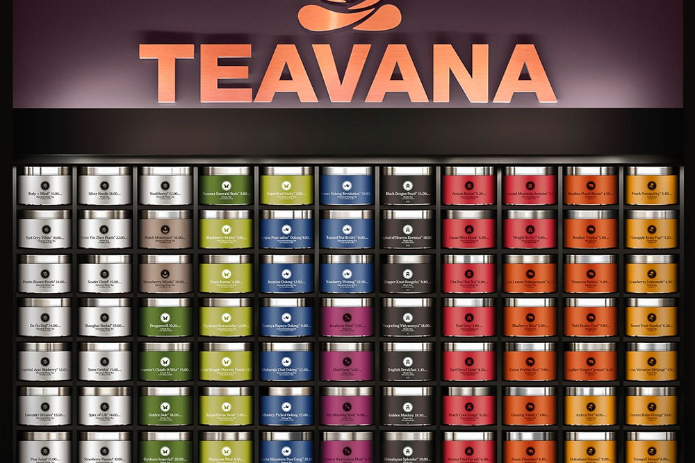 Teavana Tea Selection