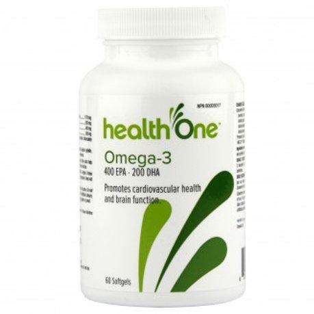 H One Omega 3 1065mg Soft Gel 60's