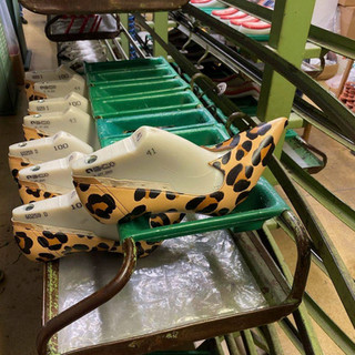 Handmade Womens Shoes Being Made