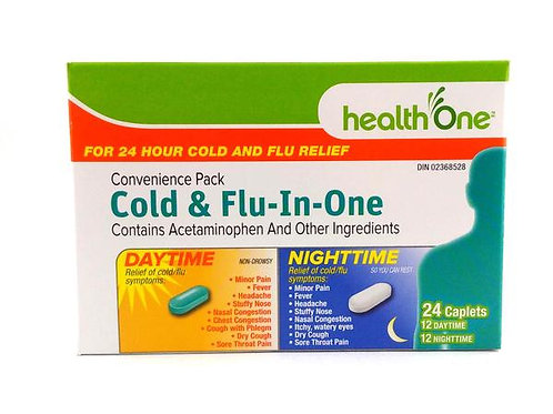 H One Cold and Flu Day/Night 12+12