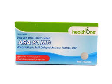 H One ASA Low Dose 81mg 150's