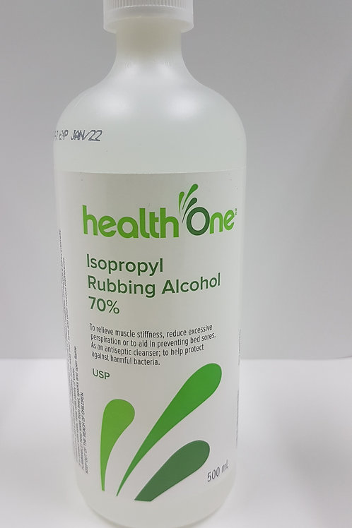 H One Isopropyl Alcohol 70% 500ml