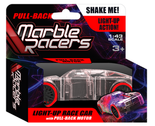Pull-Back Marble Racer Red - SD Toyz