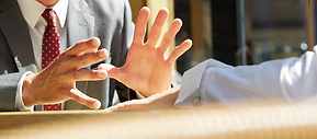 Hand Gestures | Legal Lawyer Recruiter