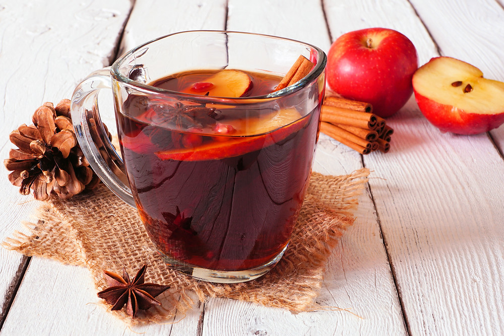 Spiced Apple Cider Herbal Tea