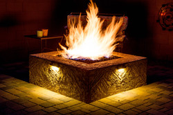 Fire Pit  Fire Pit Seating Area with Sea