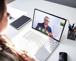 Career Coaching On A Laptop