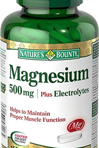 Nature's Bounty Magnesium Plus 150's