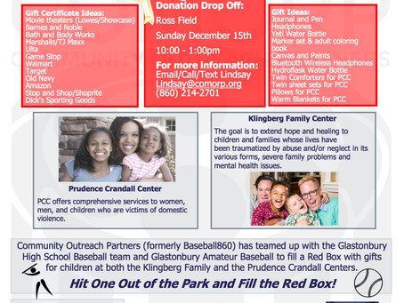 3rd Annual Fill the Red Box Gift Drive