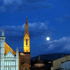 Santa Croce Harvest Moon, Florence