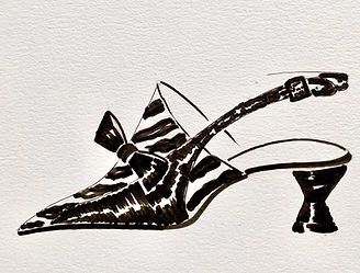 Michelle Shoe Drawing