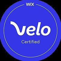 Velo Certified Badge | Velo by Wix