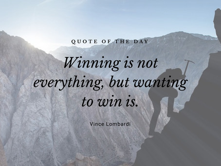 Wanting to Win