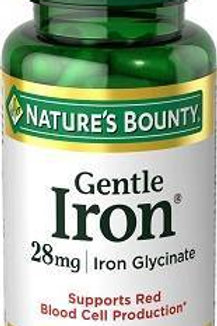Nature's Bounty Gentle Iron 90's