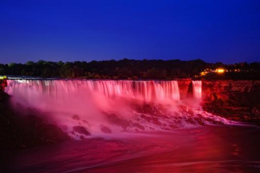 Niagara Falls on World Lymphoma Day
