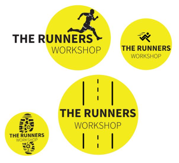 Runner Logo Creations | Runner logo design