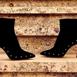 Jasmyn Black Designer Shoes | AMRJ Shoe Design