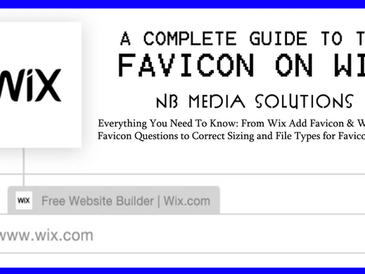 A Complete Guide To The Favicon On Wix