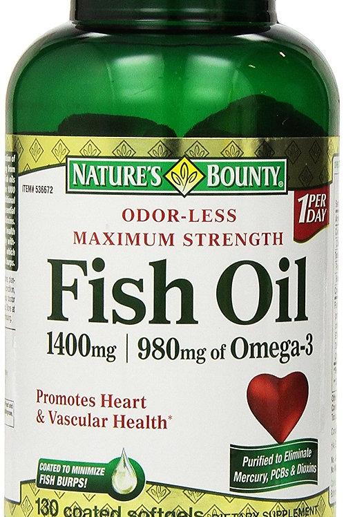 Nature's Bounty Odorless 200's