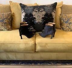 Jasmyn Grey & Jasmyn Black Designer Shoes For Women