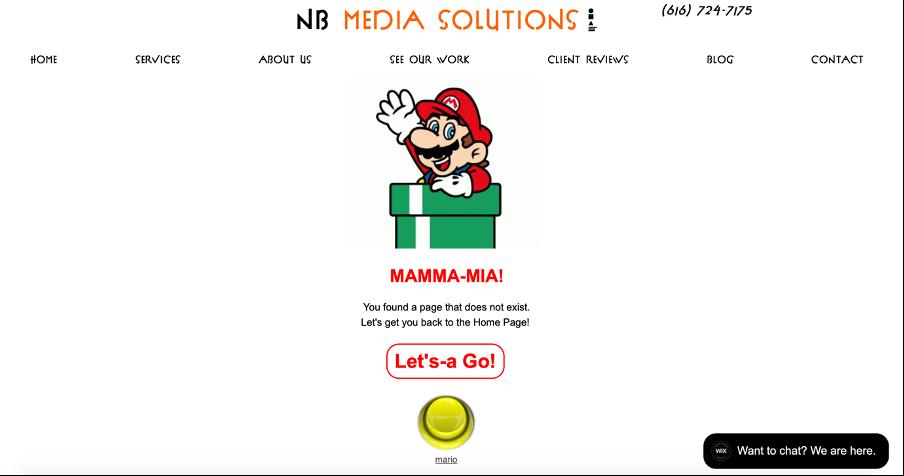 Custom 404 Page Wix | Wix Custom 404 Page