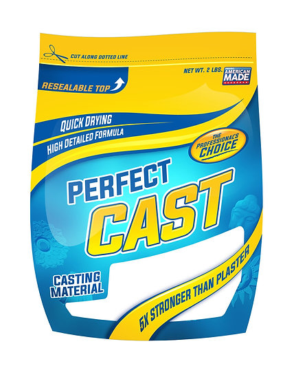 PERFECT CAST CASTING MATERIAL - 2 LBS BAG