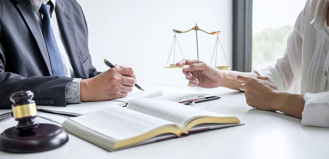 Conversation On A Judges Desk