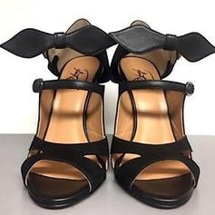 Roza Black Designer Heels | AMRJ Shoe Design